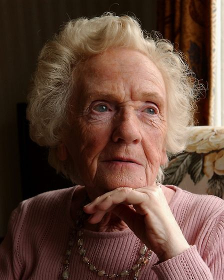 83-year-old Muriel Roe at her home in Costessey,