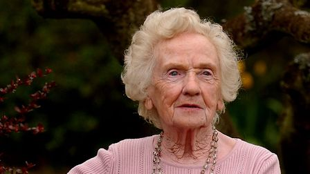 83-year-old Muriel Roe at her home in Costessey, who has been turned away from Bacon Road Medical Ce