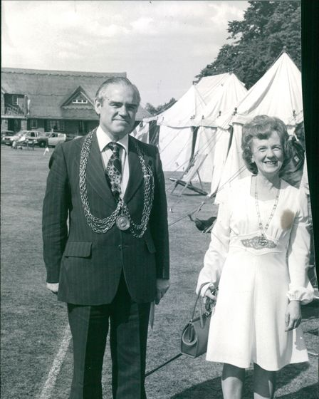 Mr and Mrs Ralph Roe August 1977