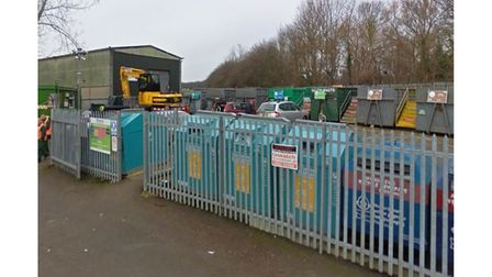 A new recycling centre could be built in Haverhill to replace the existing Chalkstone Way facility
