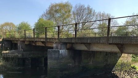 A bridge over the River Deben is set to be worked on next month