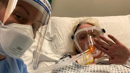 Cathy louis in hospital