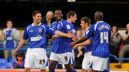 SPORTPhotograph Gregg Brown 9/8/2011Carling Cup, Ipswich Town V Northampton Town.Jay Emmanue