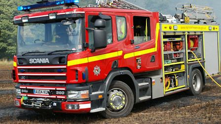 Norfolk Fire and Rescue Service was called out to two crashes