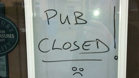 The Bread and Cheese pub in Adelaide Street, Norwich is closed: Photos David Bale
