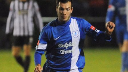 Danny White is available again for Wroxham after injury. Picture: Ian Burt