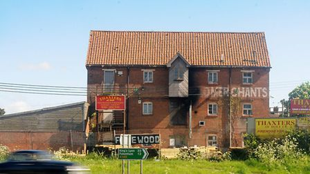 The old Thaxters of Holt site which will be demolished for an Aldi store. PHOTO: ANTONY KELLY