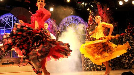 Thursford Christmas Spectacular 2014.Picture: ANTONY KELLY