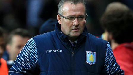 Paul Lambert during his time as Aston Villa manager. Picture: Nick Potts/PA Wire.
