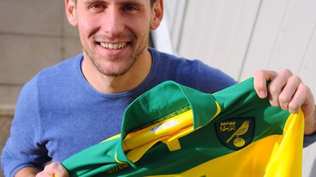 Norwich City's new signing Tony Andreu is ready to get down to business. Picture: Denise Bradley.