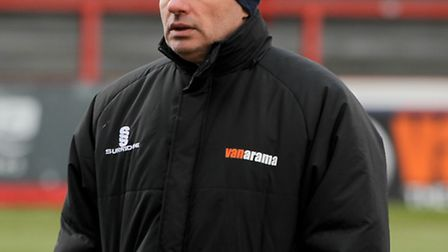 Lowestoft Town manager Ady Gallagher.