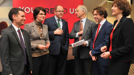 Norfolk MPs Simon Wright, Chloe Smith, George Freeman and Henry Bellingham join Norfolk Chamber of C