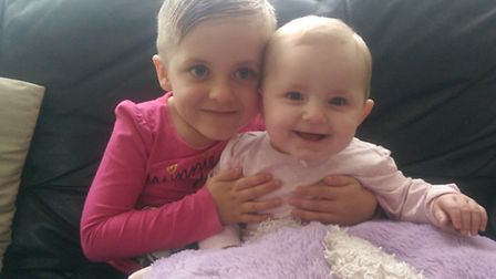 Honey Goodwin and her younger sister Winter.