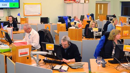 The 111 emergency out of hours contact centre. Picture: DENISE BRADLEY