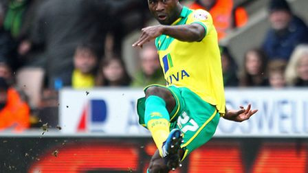Alex Tettey starred in Norwich City's 2-0 Championship win over Wolves. Picture by Paul Chesterton/F