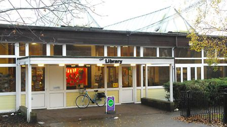 Beccles Library.