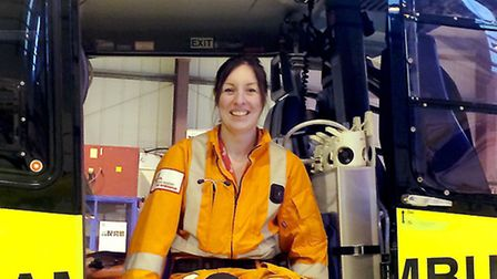 Dr Vicky Smith is raising money for the East Anglian Air Ambulance. Photo: Steve Adams