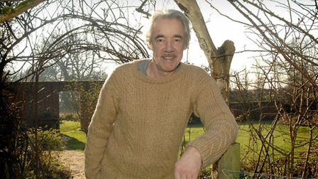 Actor Roger Lloyd-Pack at his home in Hindolveston.