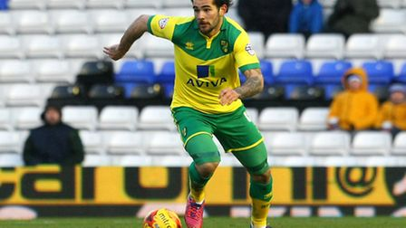 Norwich City midfielder Bradley Johnson has signed a new deal with the Canaries. Picture by Paul Che