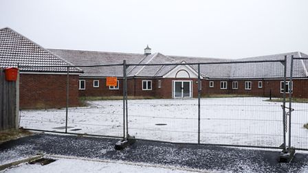 Cawston Care home which is still closed even tho it was due to be completed by the end of 2014.Photo