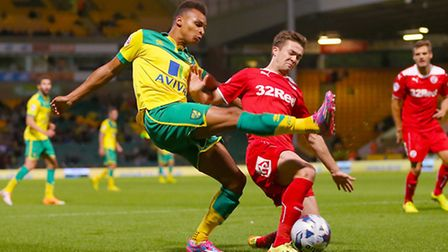 Jacob Murphy has returned to Norwich City after a loan spell with Scunthorpe.