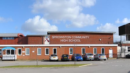 Sprowston High School. Picture: Denise Bradley