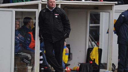 Lynn boss Gary Setchell is doing everything he can to add to his small squad. Picture: IAN BURT