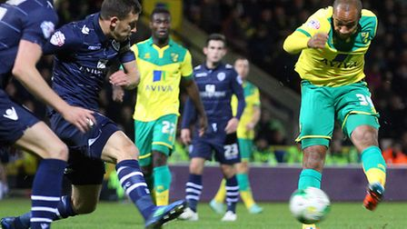 Vadis Odjidja-Ofoe played 90 minutes in Norwich City's development draw at Leicester on Monday. Pict
