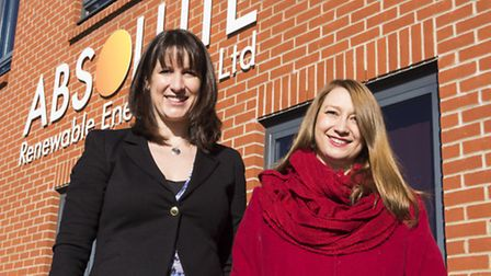 Rachel Reeves (left), shadow minister for work and pensions and Jessica Asato (right), Labour parlia