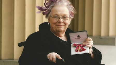 Barbara Ross OBE who has died (Feb 2015)