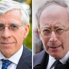 Former cabinet ministers Jack Straw and Sir Malcolm Rifkind. Photo: PA Wire