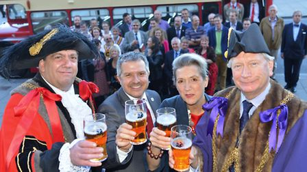 Last year's City of Ale event.