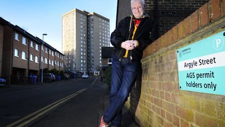 Film maker Al Stokes who is releasing his film about the Argyle Street evictions on YouTube.Picture: