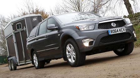 SsangYong Korando Sports pick-up now boasts a one-tonne payload which means more loads and less tax.