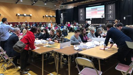 Colchester election count