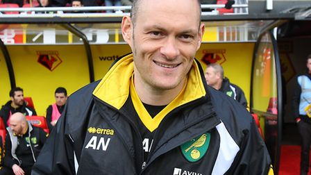 Norwich manager Alex Neil has had to embrace the inevitable comparisons with Paul Lambert. Picture b