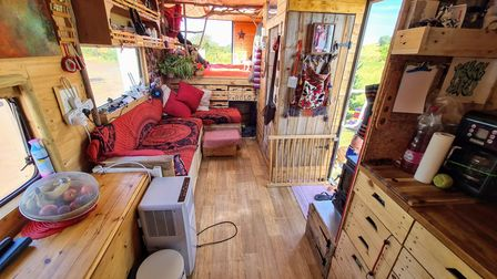 Chris and Catherine spent tens of thousands of pounds making Florry into the perfect Tiny Home