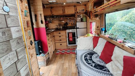 They put blood, sweat and tears into renovating Florry the Lorry into a home