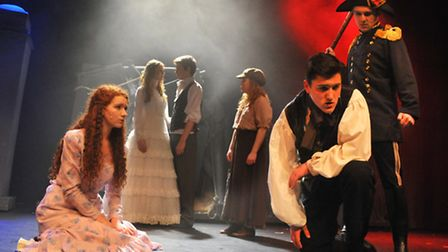 Notre Dame High School perform Les Miserables School Edition to celebrate the school's 150th year. P