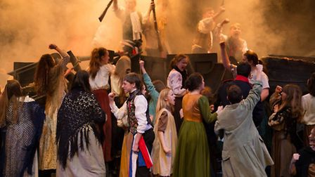 Notre Dame High School is performing Les Misrables School Edition at Norwich Playhouse. Photo: submi
