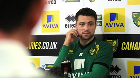 Norwich City captain Russell Martin knows all about derby success against Ipswich. Picture: Antony K