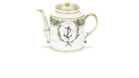 Nelson's teapot, which is coming up for auction