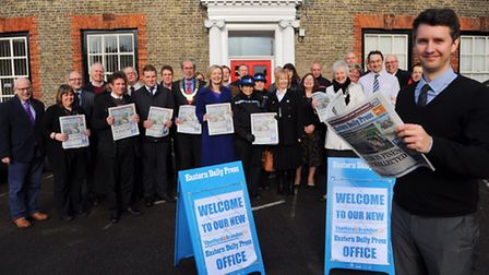 The Eastern Daily Press Thetford office officially opens in Kings house. Thetford and Brandon Times