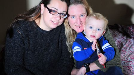 Ali and Nicky Stainsby-Soanes and Caleb (15months) are delighted to have Zillah the cat back home a