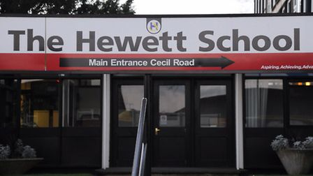Norfolk County Council's hopes of creating a learning village at the Hewett School seems to have bee