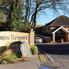 Entrance to the Potters Resort at Hopton.Picture: James Bass