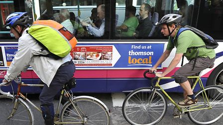 A further £15.4m could be spent to improve cycling in Norwich. Photo: Tim Ireland/PA