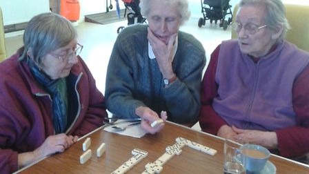 People enjoying themselves at Silverdale day centre: Picture submitted