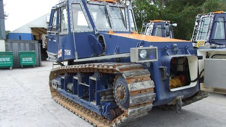 The specialist marine tractor Hemsby's independent lifeboat service is raising money for.