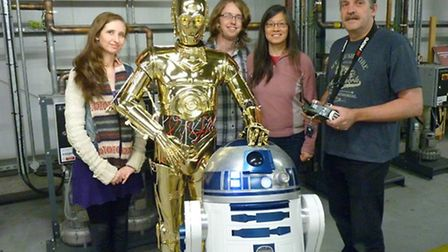 R2's Wish - a mini movie to help raise funds for the Make-A-Wish Foundation UK - has been filmed at